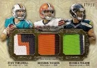 2012 Five Star Football Triple Autograph