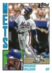 2013 Topps Archives Mookie Wilson Sp