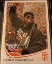 2013 Topps Opening Day #212 Pablo Sandoval SP