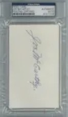 Joe McCarthy Cut Signature
