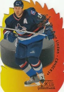 12-13 Fleer Retro Hotshots #23 of 25 Trevor Linden