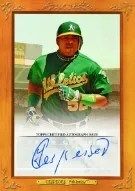 2013 Topps Turkey Red Cespedes Autograph