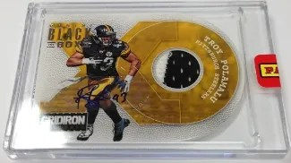 2013 Panini Black Box XO Troy Polamalu Auto Patch