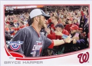 2013 Topps Opening Day #50 Bryce Harper SP