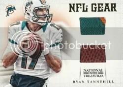 2012 National Treasures Ryan Tannehill Dual