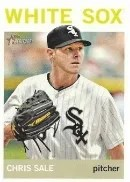 2013 Heritage Chris Sale Color Sp