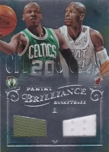 12/13 Brilliance Baskeball City to City Jersey #17 Ray Allen