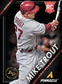 2013 Panini Pinnacle Mike Trout RC
