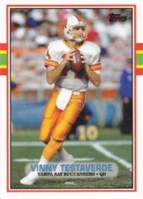 2013 Topps Archives High Number #209 Vinny Testaverde