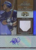 2012 Triple Threads Elvis Andrus Auto