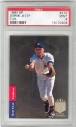 1993 Upper Deck SP Derek Jeter Rookie SP PSA 9