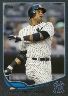 2013 Topps Series 2 Robinson Cano Black