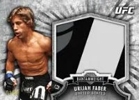 2012 Topps UFC Bloodlines Urijah Faber