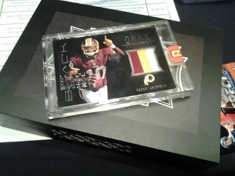 Robert Griffin III Patch Card From Black Box