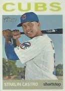 2013 Heritage Starlin Castro Sp Color