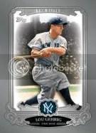 2013 Topps Series 2 Lou Gehrig Elite