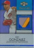 2012 Triple Threads Gio Gonzalez Relic
