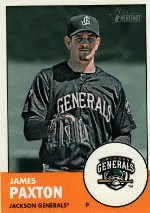 2012 Heritage Minor League James Paxton