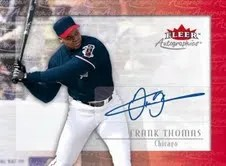 2013 Fleer Retro Frank Thomas Autographics