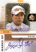 2012 Sp Authentic Se Ri Pak Autograph