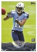 2013 Topps Justin Hunter RC