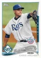 2014 Topps Opening Day Chris Archer
