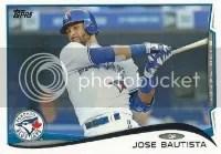 2014 Topps Series 1 Jose Bautista #323