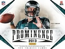 2013 Panini Prominence Football Box
