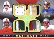 2013 Ultimate Collection Quad Patch