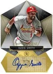 2014 Topps Supreme Ozzie Smith Die Cut
