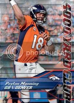 2014 Topps Chrome Peyton Manning 4,000 Yard Club
