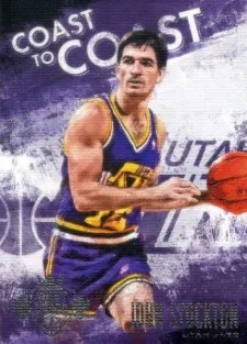 13/14 Panini Court Kings Coast to Coast John Stockton