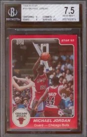 Star Michael Jordan Rookie Card