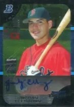 2005 Bowman Draft Jacoby Ellsbury