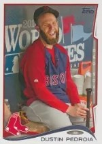 2014 Topps Series 1 Dustin Pedroia Sp