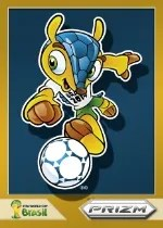 2014 Panini Prizm Mascot Card