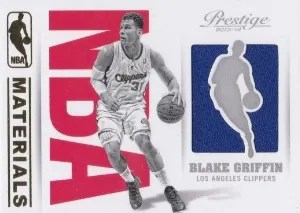 13/14 Panini Prestige NBA Materials Blake Griffin
