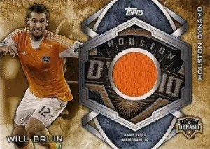 2014 Topps MLS Kits Relic Card