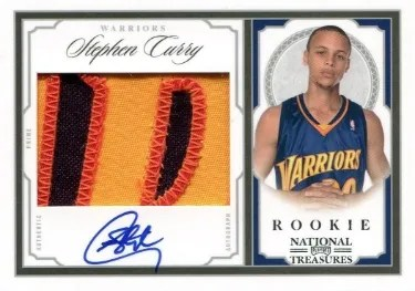 2009/10 Panini National Treasures Stephen Curry RC