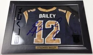 2013 Panini Black Stedman Bailey Shadowbox Auto