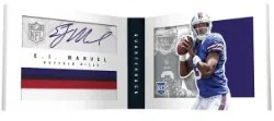 2013 Panini Playbook E.J. Manuel Book