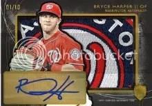 2014 Topps Supreme Bryce Harper Autograph