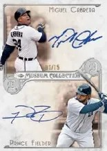 2014 Topps Museum Collection Dual Auto