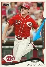 2014 Topps Series 1 Jay Bruce Sparkle