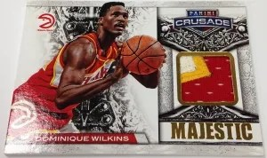 13/14 Panini Crusade Majestic Dominique Wilkins Jersey