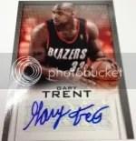 13/14 Panini Signatures Gary Trent