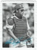 2014 Topps Archives Deckle Ivan Rodriguez