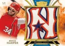 2014 Tier One Bryce Harper All Star Relic