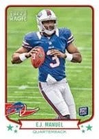 2013 Topps Magic E.J. Manuel RC