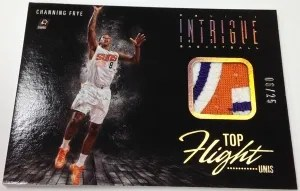13/14 Panini Intrigue Top Flight Uni's Channing Frye Patch